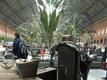 Atocha Railway Station Madrid  Spain