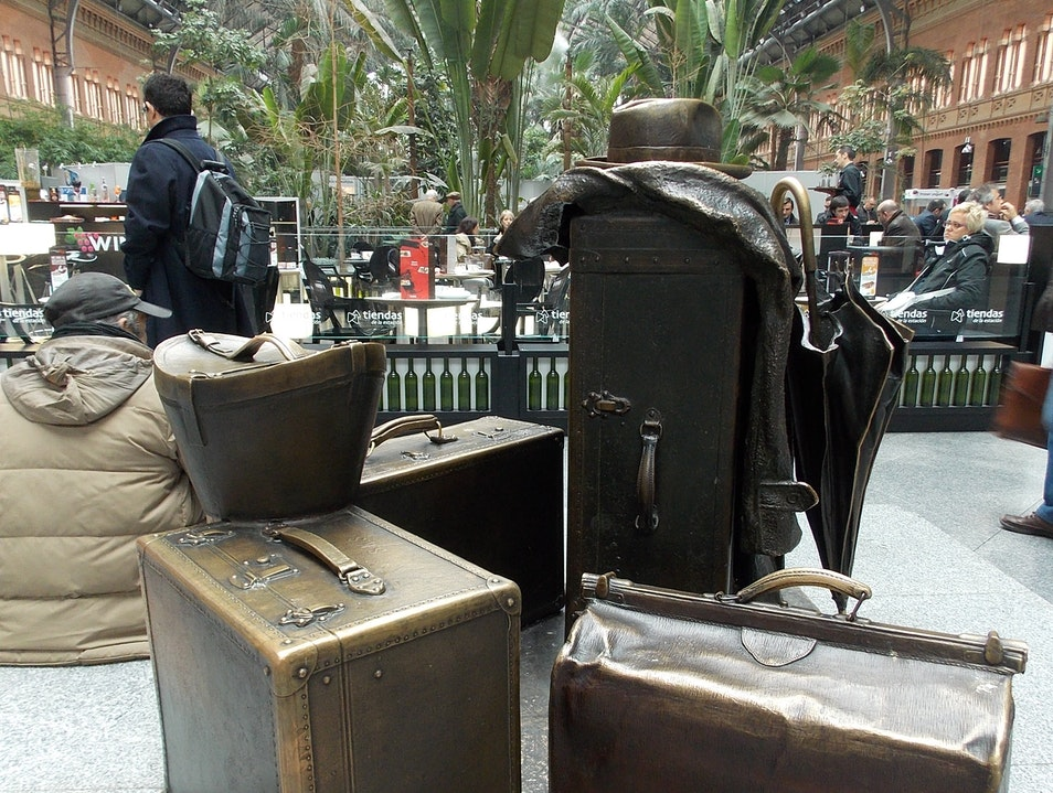 Left luggage in Madrid