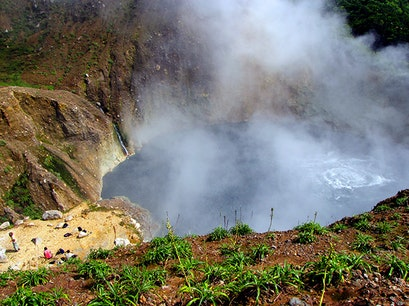 Boiling Lake Delices  Dominica