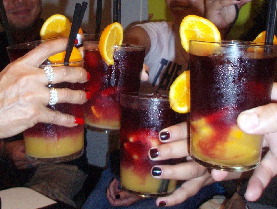 Best Sangria in town Barcelona  Spain