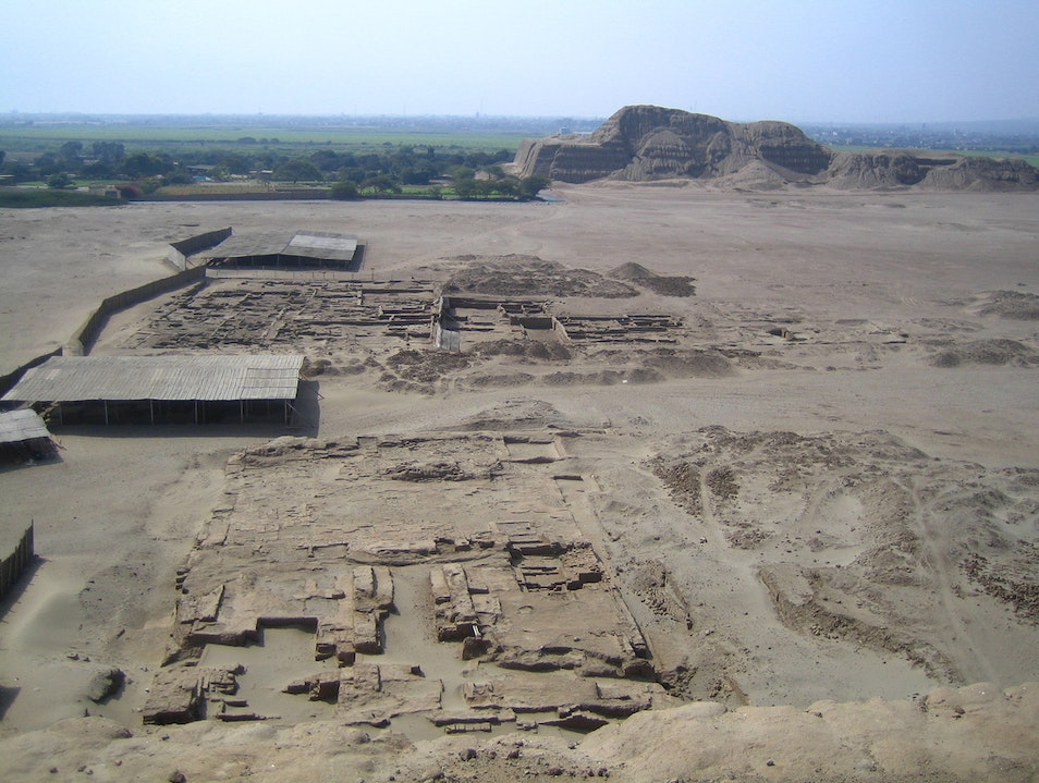 Moche Temples of the Sun and Moon Moche  Peru