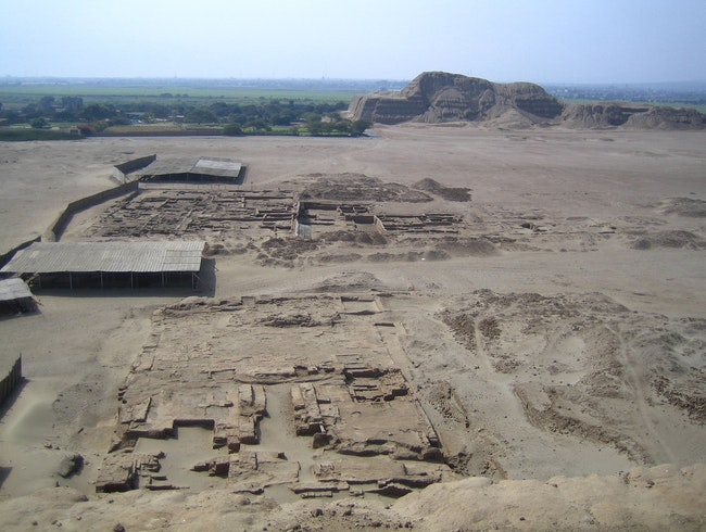 Moche Temples of the Sun and Moon
