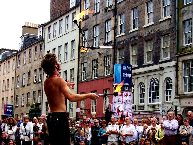 August Fringe Festival Fun in Edinburgh