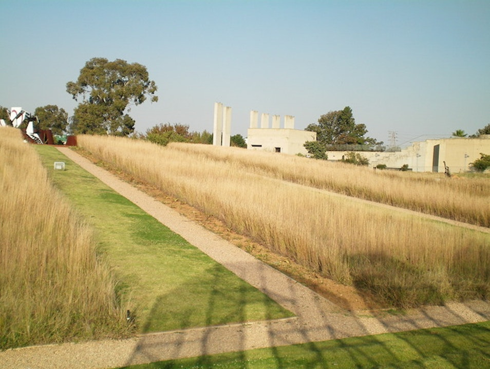 October 8, lunch: Highveld at the Apartheid Museum