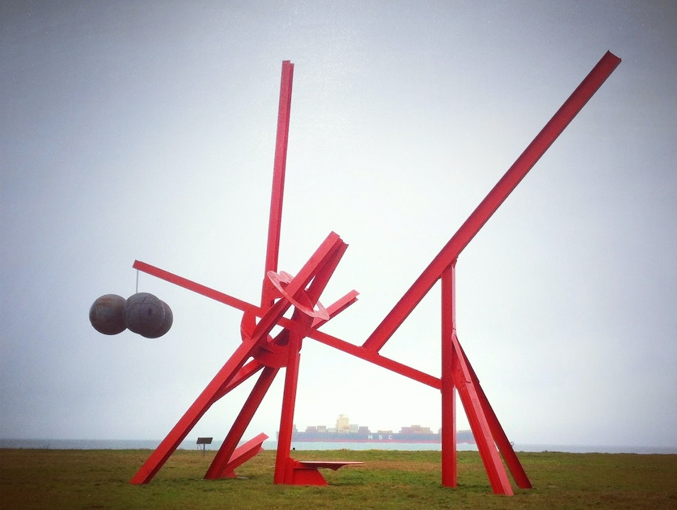 Spectacular Yard Art at the Golden Gate  San Francisco California United States