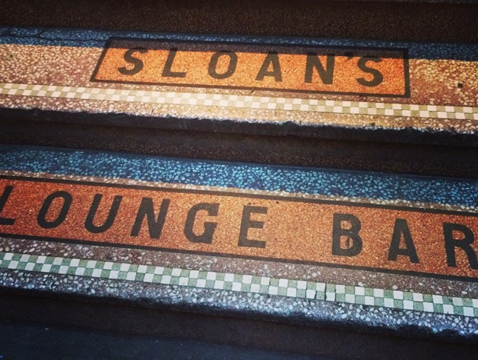 Step Back in Time at Sloan's  Glasgow  United Kingdom