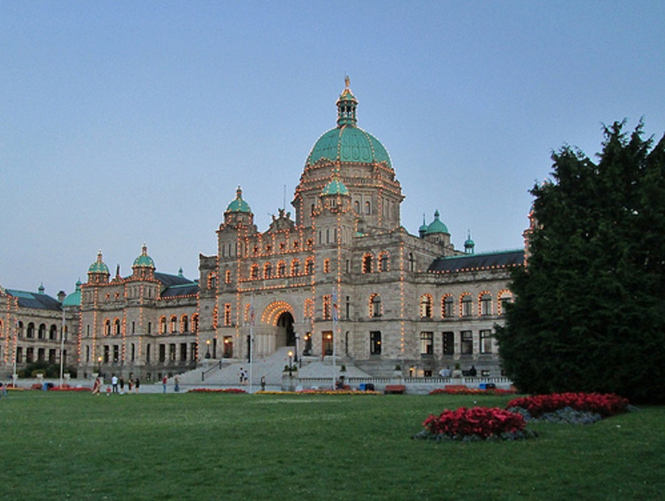 Take a Free Tour of BC's Government Building Victoria  Canada