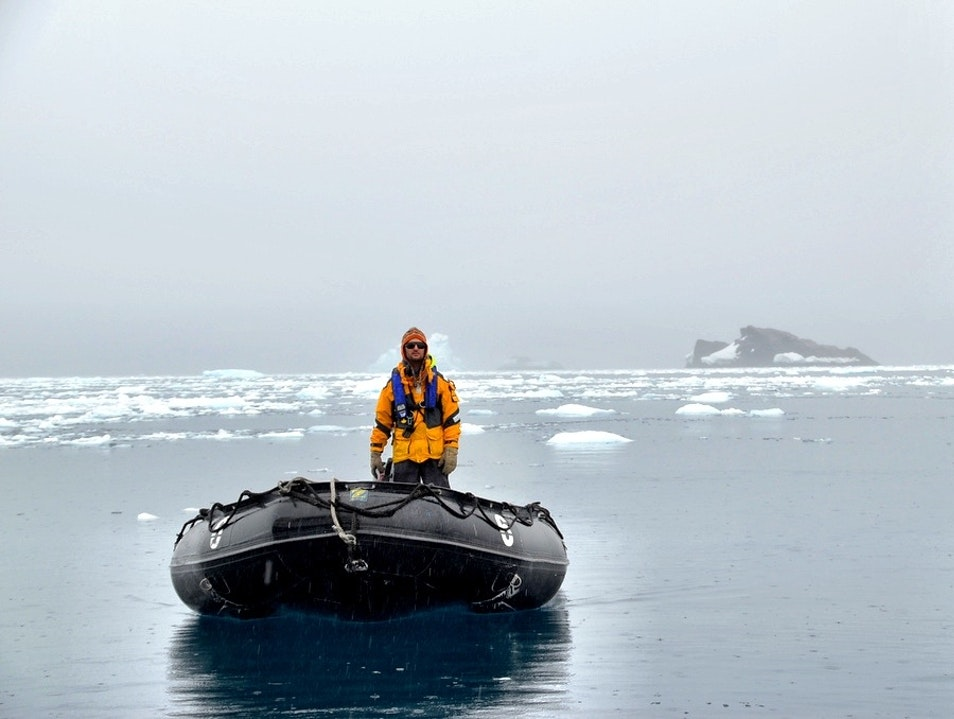 Zodiacs, the Taxicabs of Antarctica