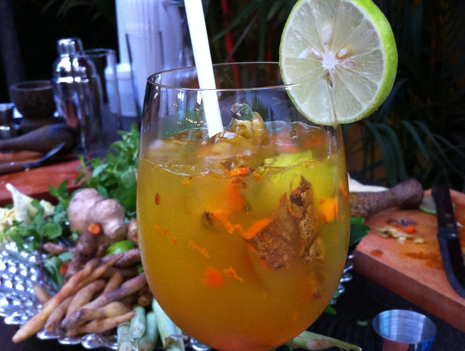 Learn to make Khmer cocktails at Asana Siem Reap  Cambodia