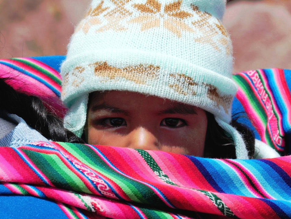 """I'm watching you"" Puno Region  Peru"