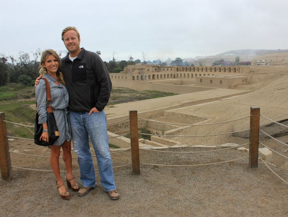 Exploring Pachacamac in Lima's outskirts