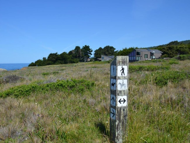 10 hints to make sure fitness doesn't take a hike when staying at Sea Ranch, CA
