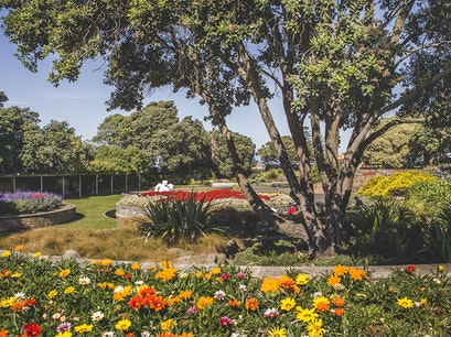 Sunken Gardens Napier  New Zealand