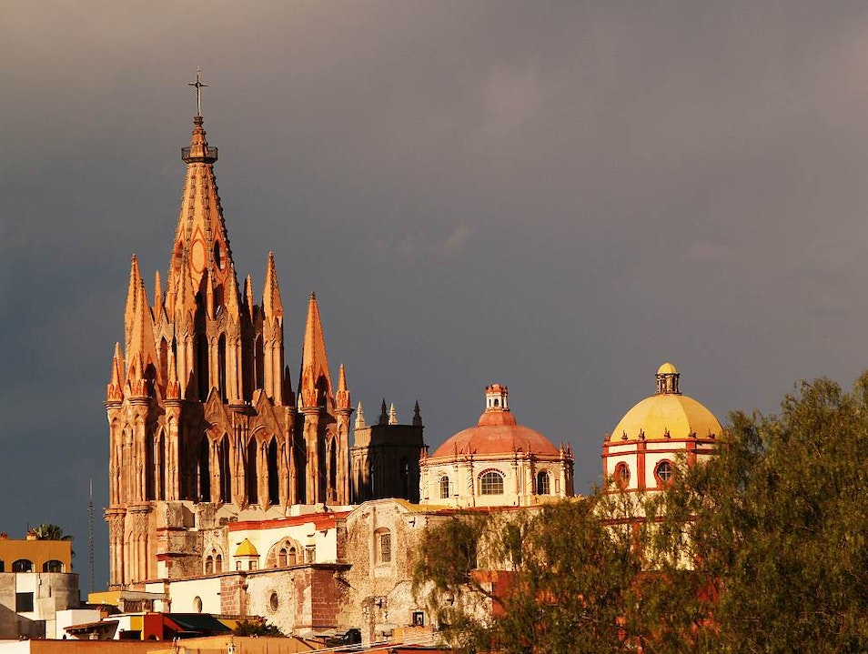 The UNESCO World Heritage Site of Colonial San Miguel de Allende, Mexico San Miguel de Allende  Mexico