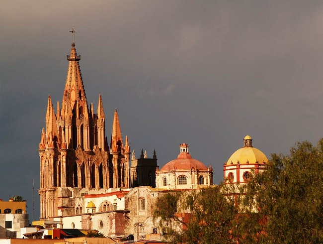 The UNESCO World Heritage Site of Colonial San Miguel de Allende, Mexico