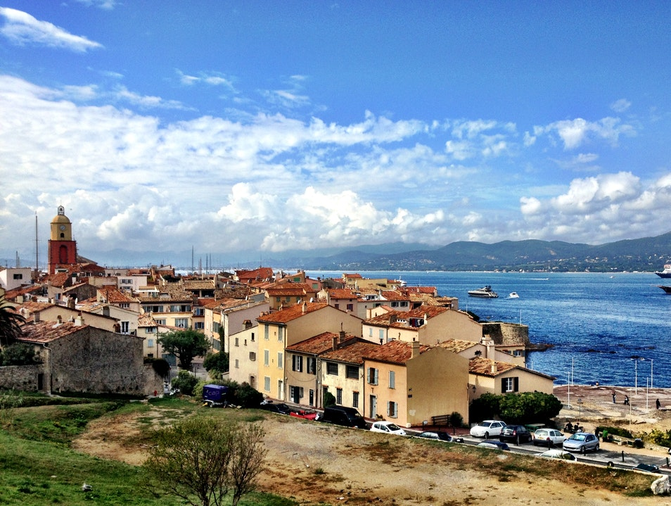 Enjoy the Views Atop Saint Tropez Saint Tropez  France