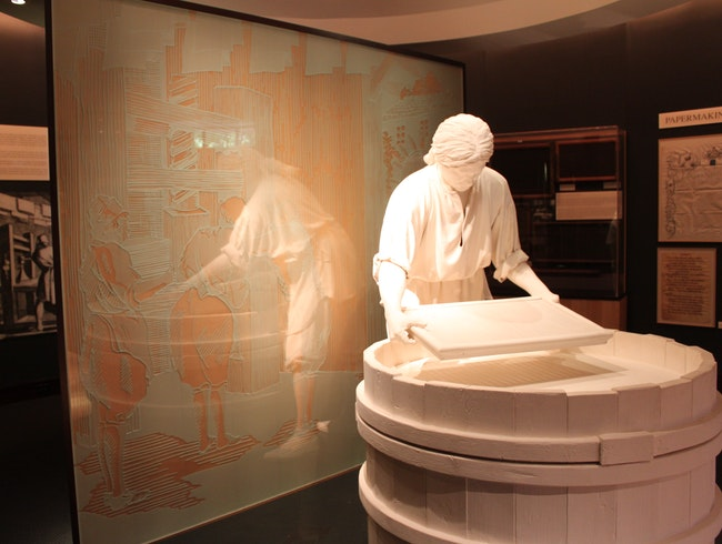 Unusual Museum Devoted to Paper
