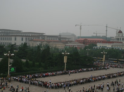 Mausoleum of Mao Zedong Beijing  China