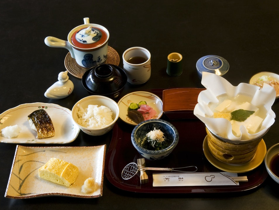 A Traditional Kappo Meal in Osaka