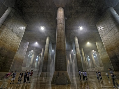 Metropolitan Area Outer Underground Discharge Channel Kasukabe  Japan