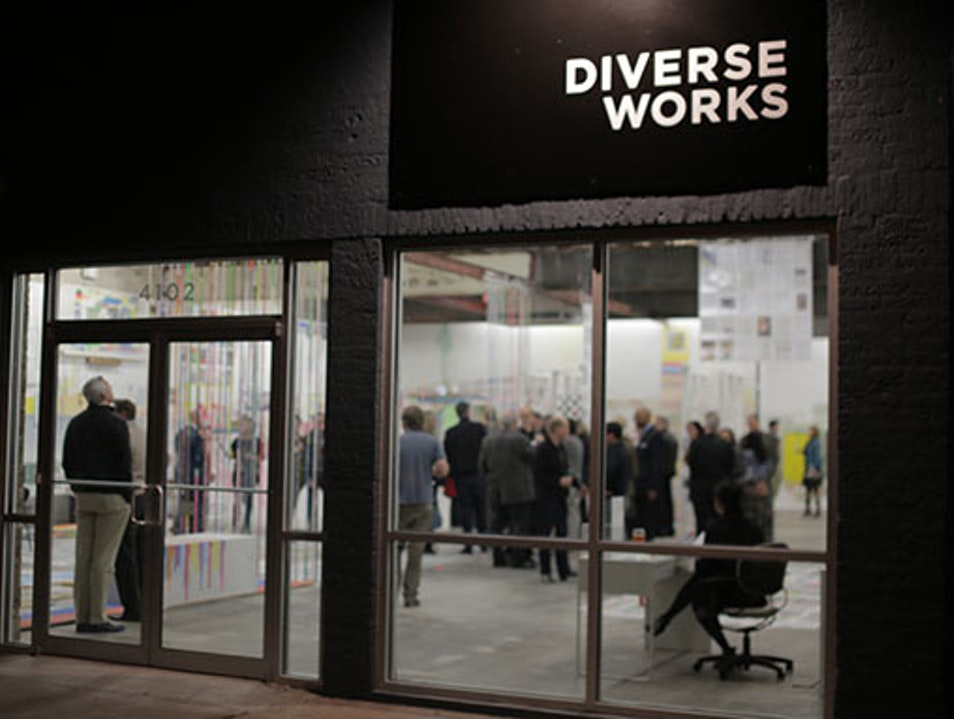Soak in the Arts at DiverseWorks Houston Texas United States