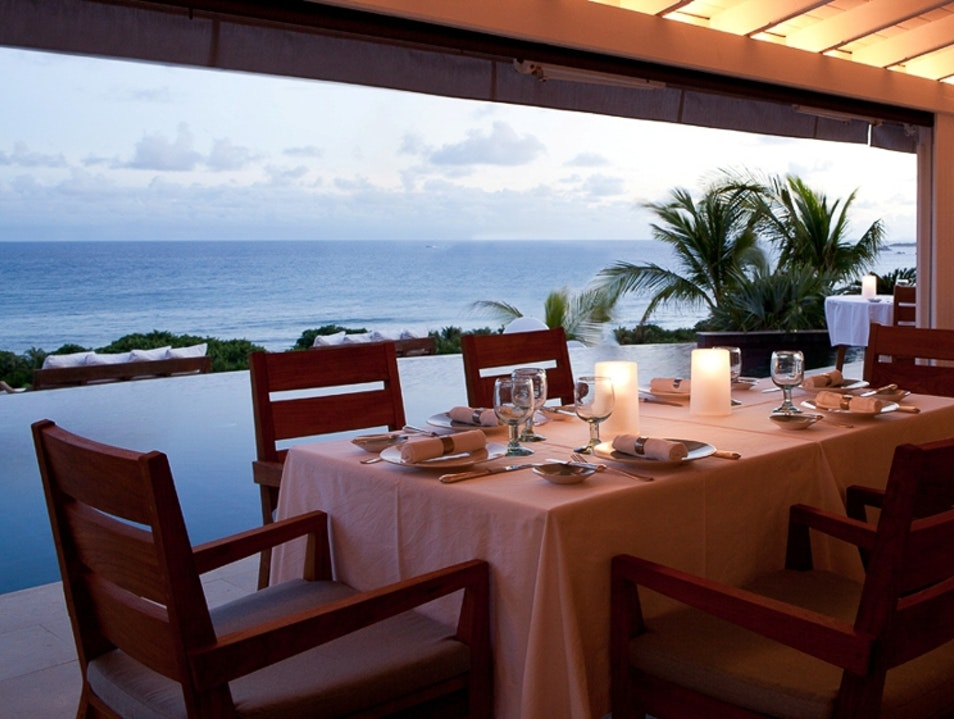 For Dinner by the Sea   Saint Barthélemy
