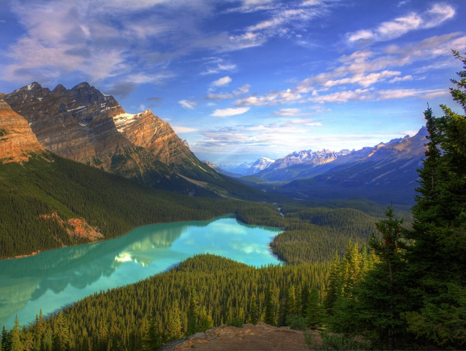 Peyto Lake,Banff National Park Banff National Park  Canada