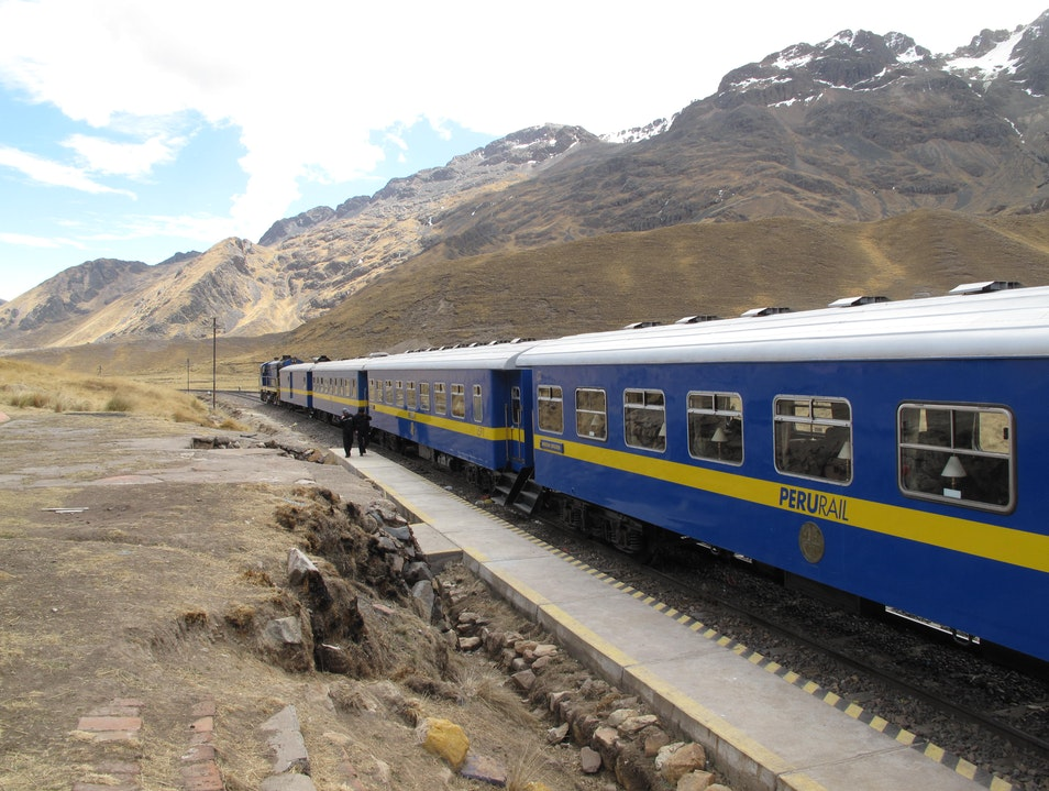 Train from Puno to Cuzco   Earth