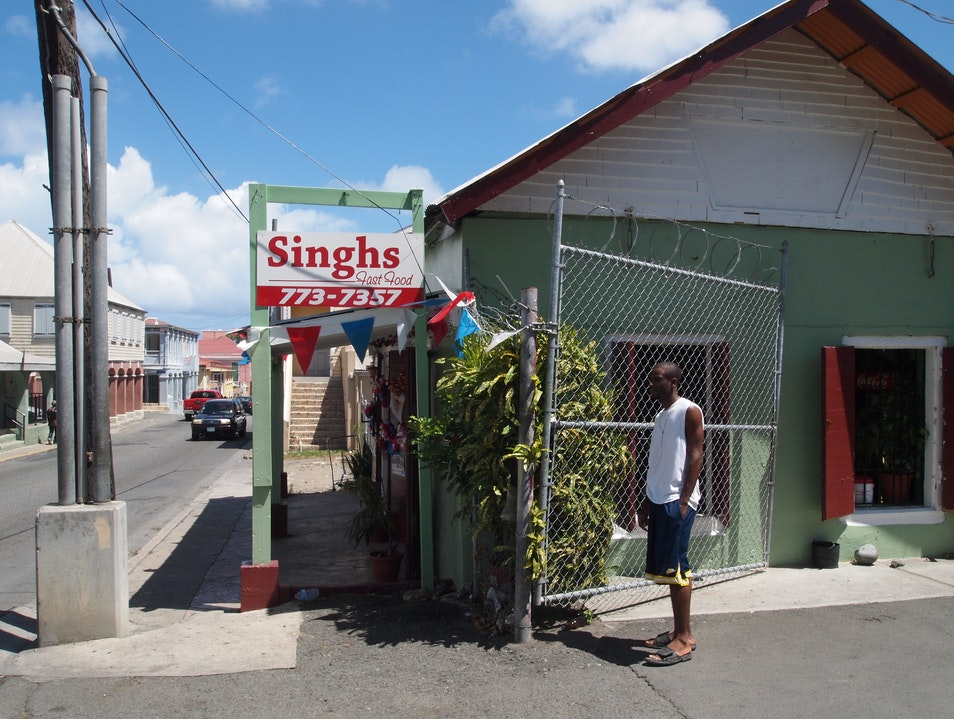Stop in at Singh's for Some Hot-O-Hot Roti