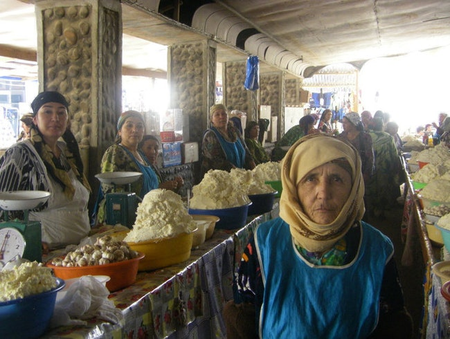 Shopping in Central Asia