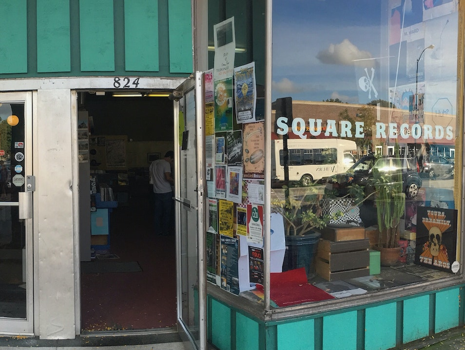 Square Records Akron Ohio United States