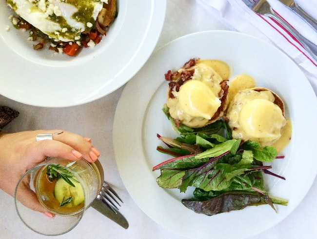 Feel A Home During Brunch At The Larchmont