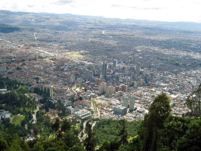Ascension to Monserrate