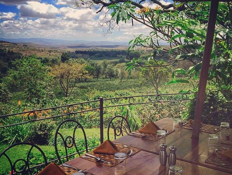 Lunch With a View Karatu  Tanzania