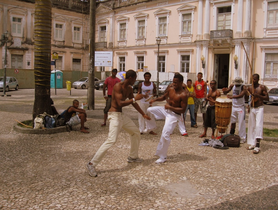 Catch an impromptu Capoeira performance! Salvador  Brazil