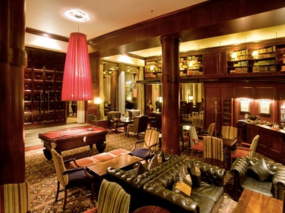Melrose Arch Hotel lounge Johannesburg  South Africa