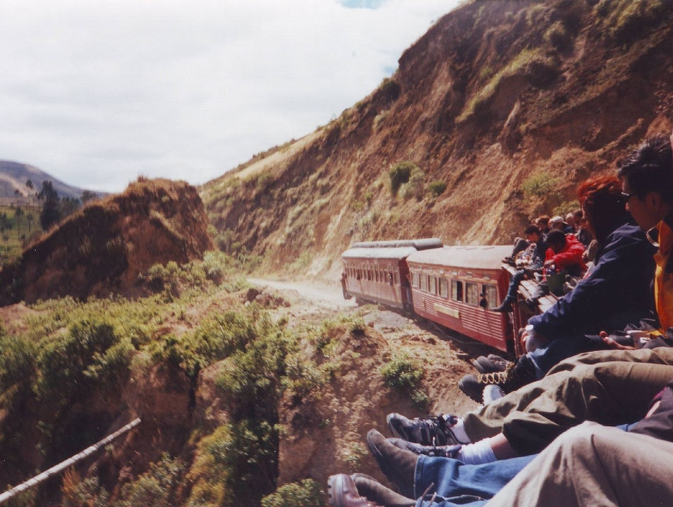 Riding the Devil's Nose Train through the Andes