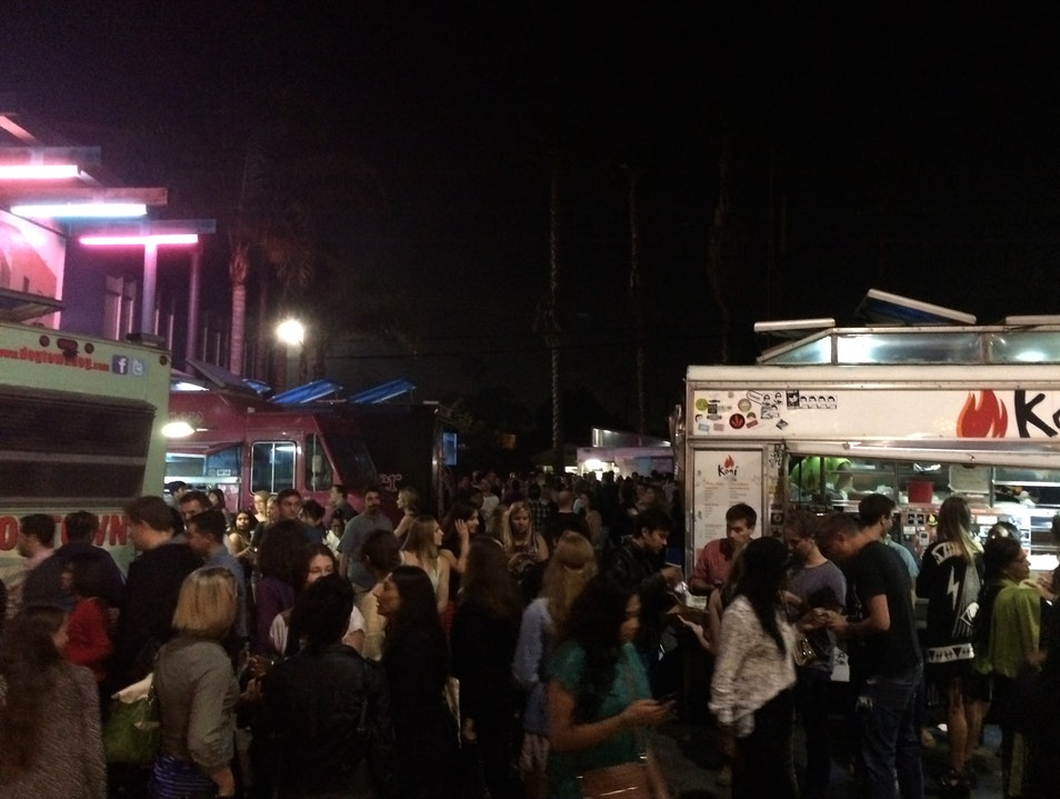 Food Truck Frenzy Los Angeles California United States
