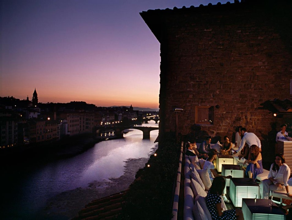 La Terrazza at the Continentale Florence  Italy