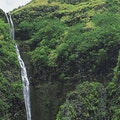 Vaipo Waterfall Northern Group  French Polynesia