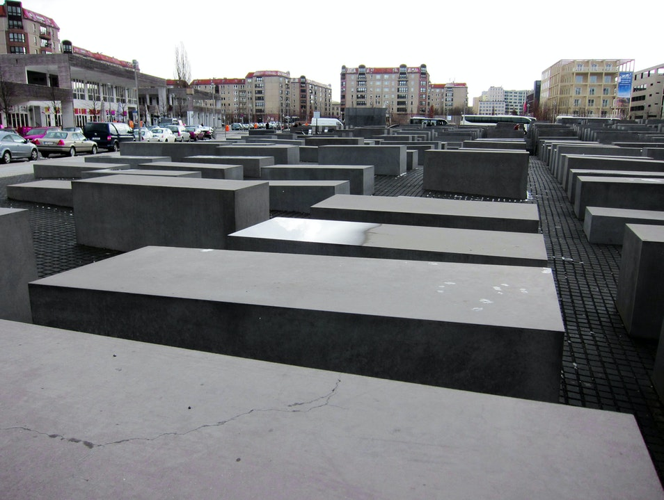The Berlin Holocaust Memorial  Berlin  Germany