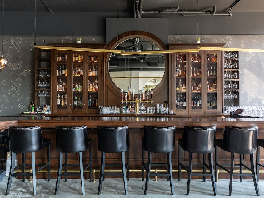 Stillwater, Minnesota's stylish boutique hotel Lora boasts a celestially themed house bar and an ambitious New American restaurant.