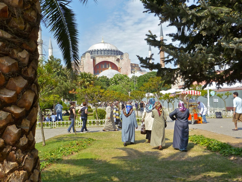 Church-turned-mosque-turned-museum Istanbul  Turkey