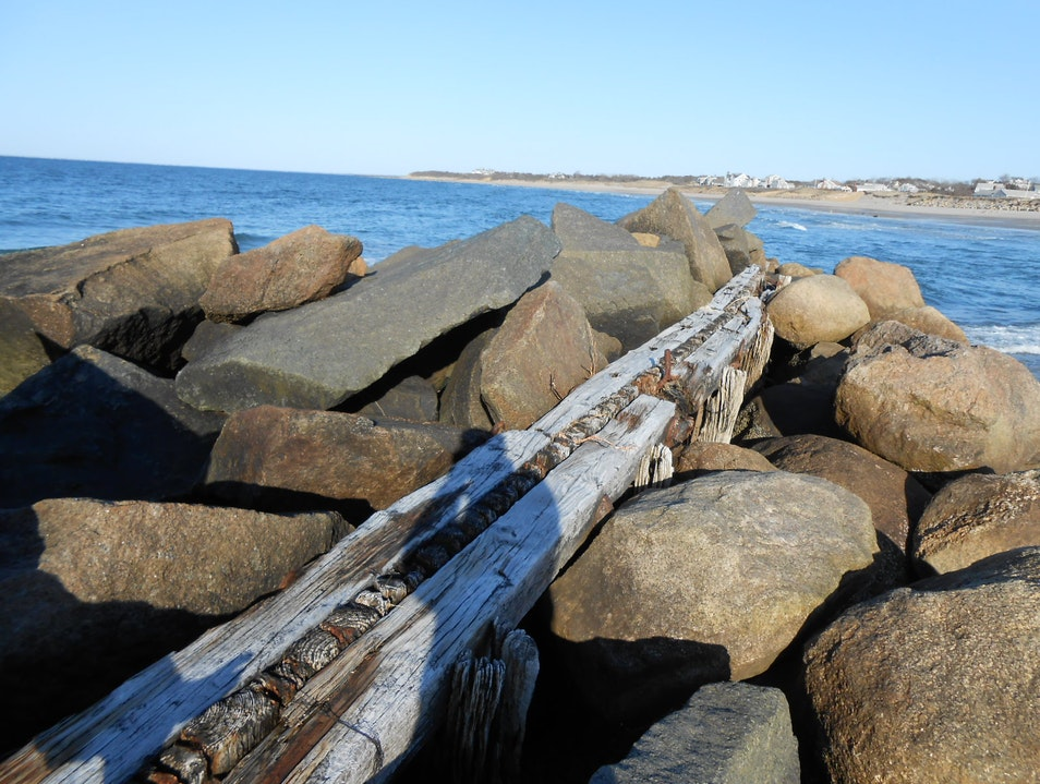 Beach Walltop Dennis Massachusetts United States