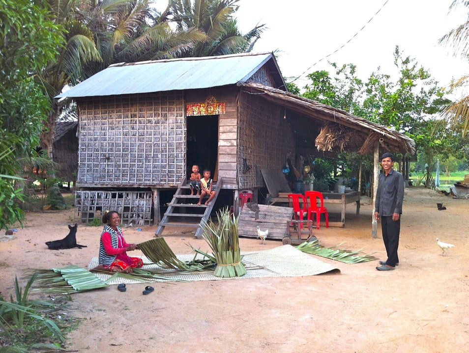 Experience a day in the life of a village Siem Reap  Cambodia