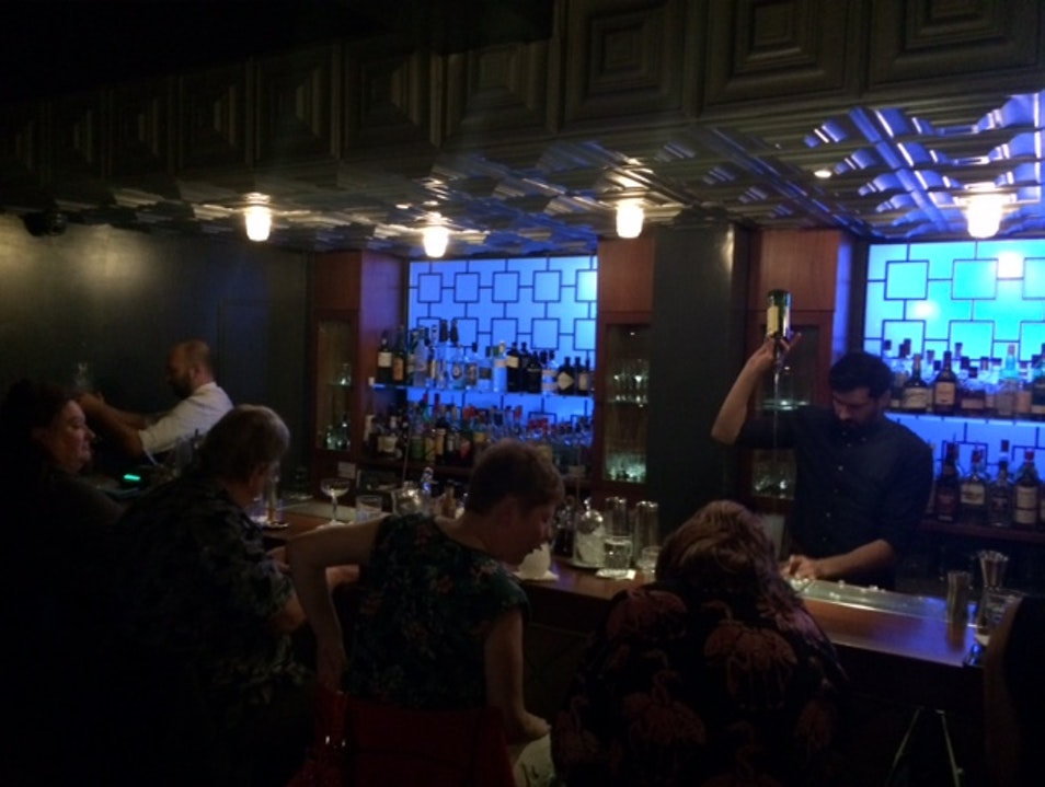 Have drinks at a speakeasy under the streets of Athens