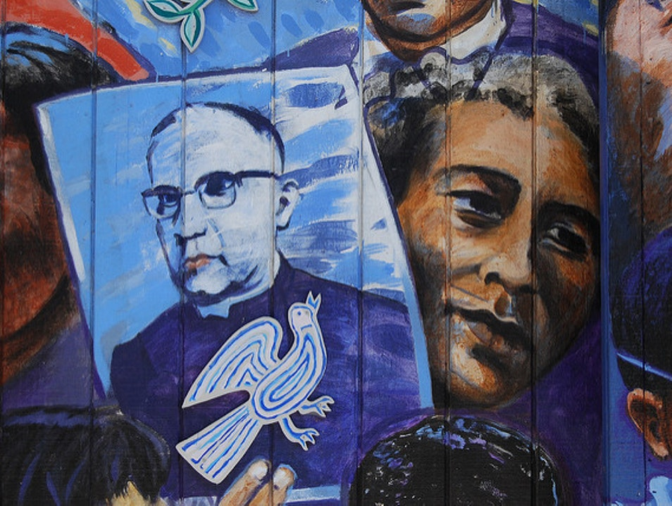 Learn about El Salvador's modern history at Centro Monseñor Romero (The Monsignor Romero Center) Tierra Blanca  El Salvador