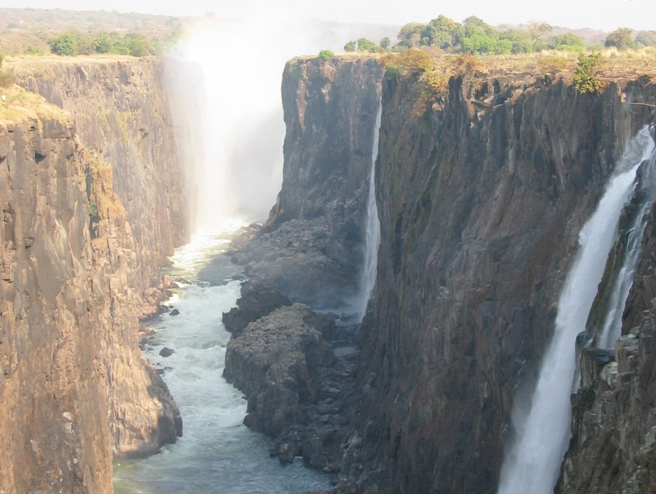 Even in Off-Season, Vic Falls is Amazing! Livingstone  Zambia