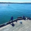 Maine State Pier Portland Maine United States