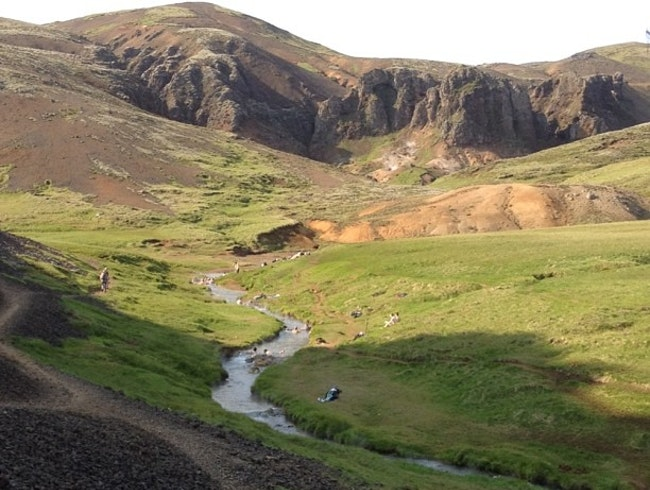 Icelandic Hot Spring River Hike